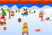 Flash-game-luge-with-santa