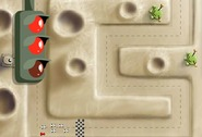 Racing-game-on-a-small-circuit